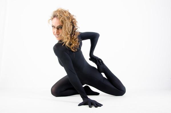 Bellerina as Spider Girl super spy cat woman