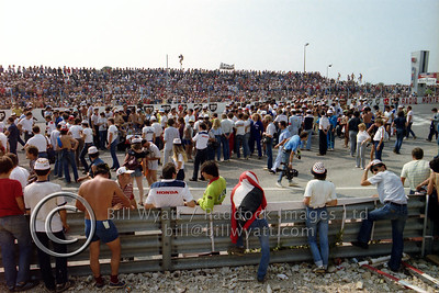Before start Bol d'Or 1982