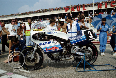Works Suzuki at Bol d'Or 1982