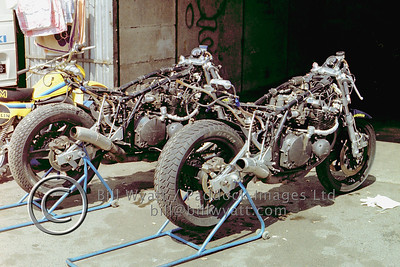 1982 Works Endurance Suzuki's