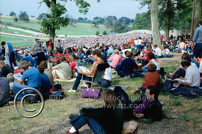 Donnington crowd at 1981 Transatlantic meeting