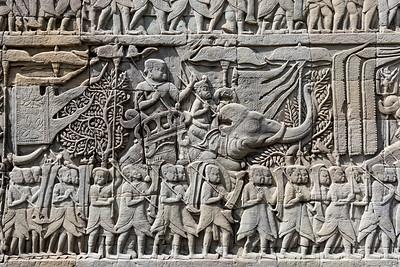 Bas-Reliefs, Bayon Temple