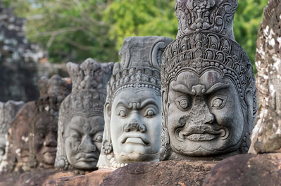 Statues of Demons, Angkor Thom