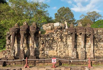 Elephant Terrace, Angkor