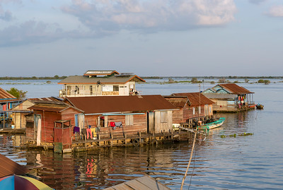 Floating Houses, Tonle Sap