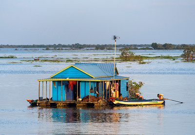 Floating House, Tonle Sap