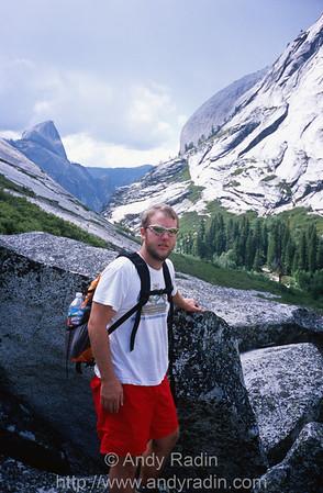Mike in Tenaya Canyon 2