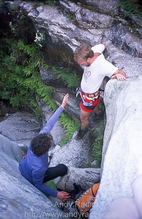 Mike in Tenaya Canyon 3