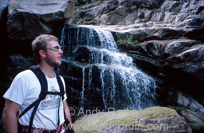 Mike in Tenaya Canyon 4