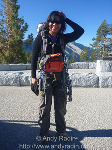 Tenaya Canyon in Yosemite National Park.  Donger's setup.