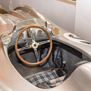 1954 Mercedes W196R cockpit