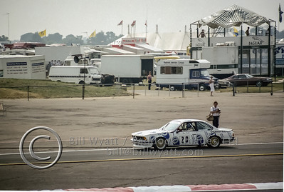 Hans Stuck in BMW 635Csi