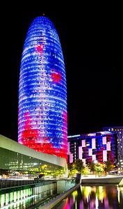 Agbar Tower (Barcelona, Catalonia)