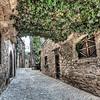 Streets of Mura (Catalonia)
