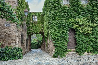 Medieval Village of Peratallada (Catalonia)