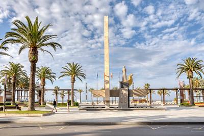 Jaume I Monument (Salou, Catalonia)