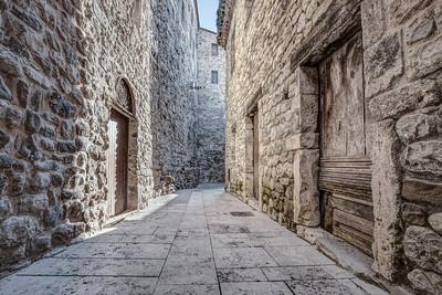 Rocafort Street (Besalú, Catalonia)