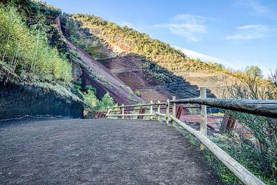 El Volcà Croscat (La Garrotxa, Catalonia)