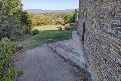 Sant Pere de Casserres Monastery, Backyard (Catalonia)