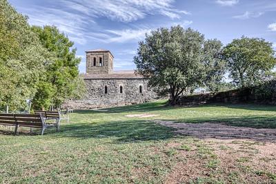 Sant Pere de Casserres, Garden (Catalonia)