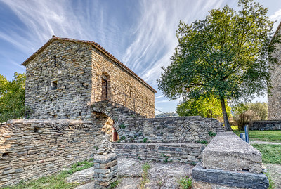 Sant Pere de Casserres Monastery, Hospital (Catalonia)