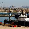 Baku port.