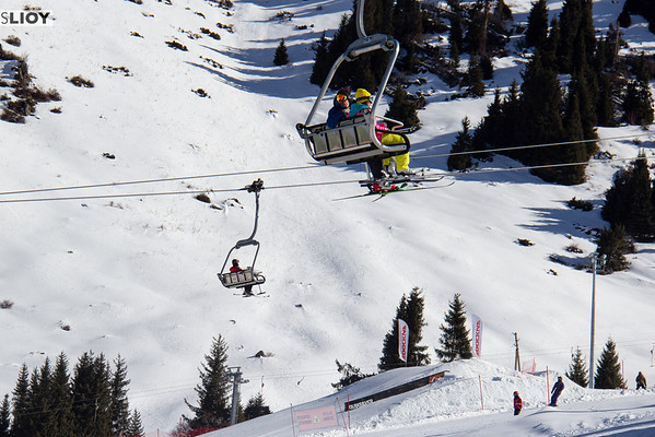 Shymbulak Ski Resort Chair Lift.