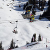 Shymbulak Ski Resort Chair Lift.