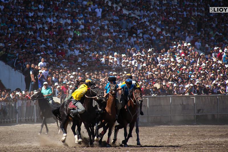 ulak tartysh at the bishkek hippodrome