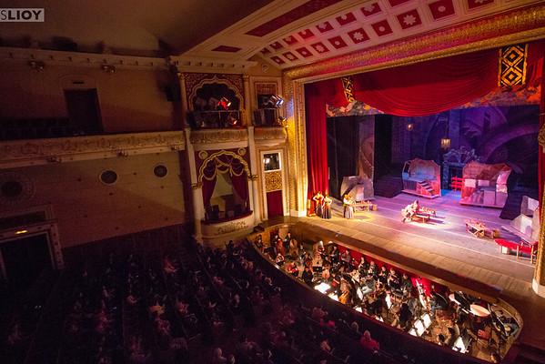 kyrgyz state opera and ballet theater in bishkek
