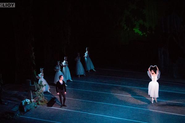 giselle performance at the bishkek ballet