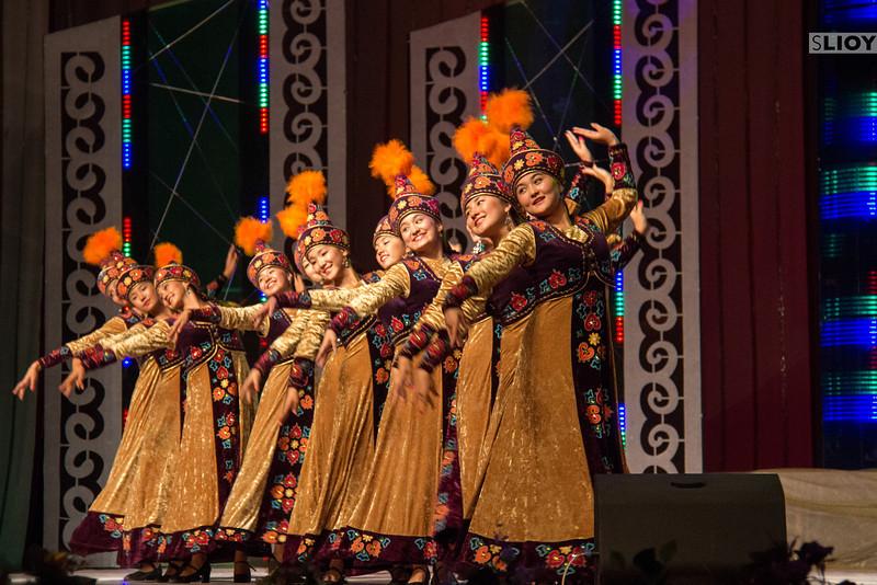 dancers at Bishkek's Philharmonia concert hall