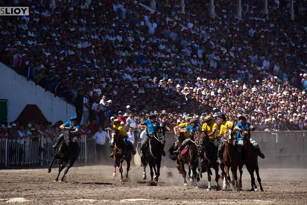 kyrgyz horse game ulak tyrtysh