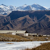 Ak-Shyrak Village in the Tian Shan Mountains.