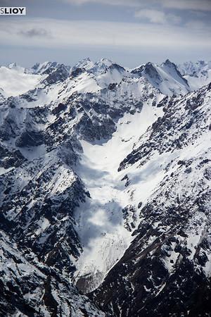 tian shan mountain glaciers