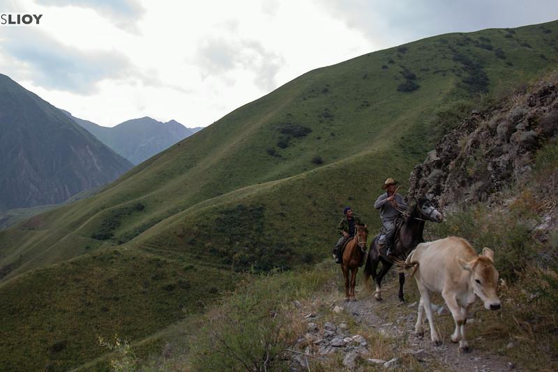 herders in kyrgyzstan