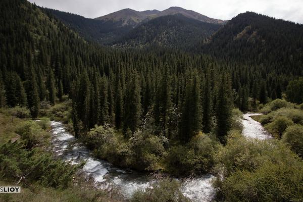 river in shamsi gorge
