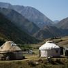 yurts in shamsi canyon