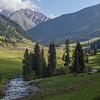 Hiking the Jyrgalan Valley in Kyrgyzstan's Issyk-Kol province.