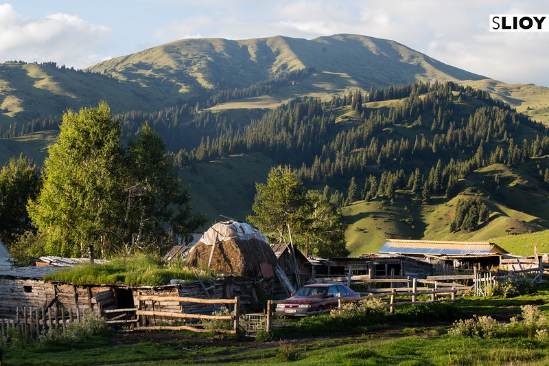 Jyrgalan Village on the east of Kyrgystan's Issyk-Kol Province