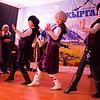 Traditional 'Kara Jorgo' dance in Jyrgalan Kyrgyzstan