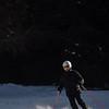 Skiing at Karakol Ski Base in Kyrgyzstan's Tian Shan mountains.