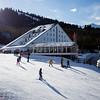 Karakol Ski Base's Capriz hotel in Kyrgyzstan's Tian Shan mountains.