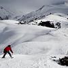 Skiing at Karakol Ski Base's Panorama Lift.