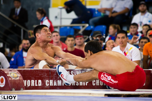 MAS Wrestling at the 2016 World Nomad Games in Kyrgyzstan.