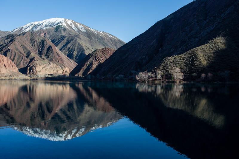 Ak-Köl Lake in the Jumgal region of Kyrgyzstan.