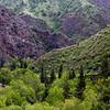 Hiking in the Kang-Sai Valley near the village of Ak-Köl in Kyrgyzstan's Jumgal region.