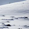Winter Hiking  in the Tian Shan Mountains near Jyrgalan Village in the Issyk-Kol region of Kyrgyzstan.