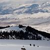 Winter In The Tian Shan Mountains Near Jyrgalan Village in the Issyk-Kol region of Kyrgyzstan.