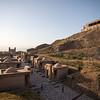 Historic Hisor Fortress near Dushanbe, Tajikistan.